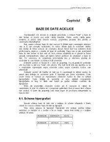 Baze de Date Aciclice - Pagina 1