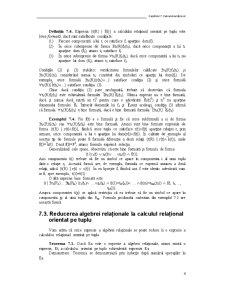 Calcul Relațional - Pagina 4