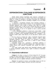 Dependente Multivaloare, Jonctiune - Pagina 1