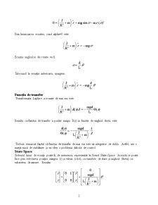 Modelarea Ball & Beam Experiment - Pagina 2