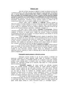 Poluarea Apelor - Factor Perturbator asupra Echilibrelor Ecologice - Pagina 2