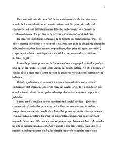 Expertiza Medico-Legala a Leziunilor Produse prin Arme de Foc - Pagina 2
