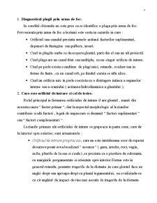 Expertiza Medico-Legala a Leziunilor Produse prin Arme de Foc - Pagina 4