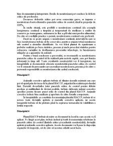 Principiile HACCP - Pagina 4