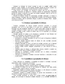 Contabilitatea Operațiunilor Generate de Divizarea Societăților Comerciale - Pagina 2