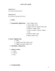 Obligatia Fiscala - Notiune, Forme, Principii - Pagina 2