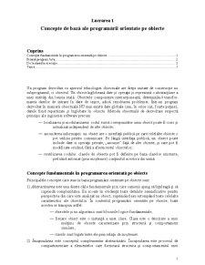 Programare Java - Pagina 1