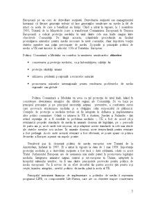 Strategii si Politici de Mediu in Contextul Integrarii in UE - Studiu de Caz - Romania - Pagina 5