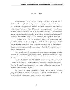 Organizarea și Exercitarea Controlului Financiar Intern în Cadrul SC Tocar Prod SRL - Pagina 5
