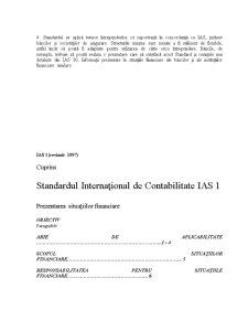Standarde Internaționale de Contabilitate IAS - Pagina 3