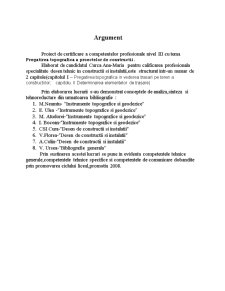 Pregatirea Topografica a Proectelor de Constructii - Pagina 1