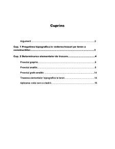 Pregatirea Topografica a Proectelor de Constructii - Pagina 3
