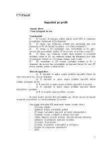 Drept Fiscal - C7 - Pagina 1