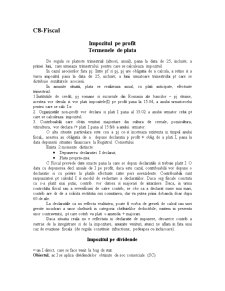 Drept Fiscal - C8 - Pagina 1