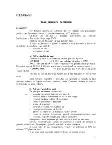 Drept Fiscal - Curs 12 - Pagina 1