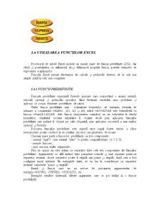 Utilizarea Functiilor Excel - Pagina 1