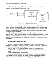 Proiectarea unei Solutii de Comert Electronic - Pagina 2
