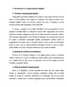 Principiile Steganografiei Digitale si Aplicarea lor Utilizand Fisiere Grafice - Pagina 5