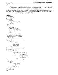Algoritmi și Programe de Prelucrare a Fișierelor - Pagina 3