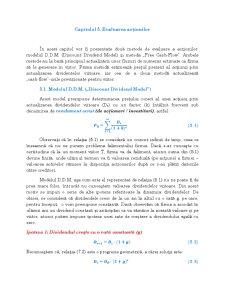 Evaluarea Acțiunilor - Pagina 1