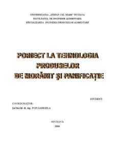 Tehnologia Produselor de Morarit si Panificatie - Fabrica de Paine - Pagina 1