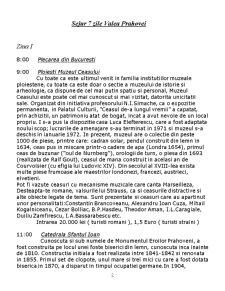 Proiect Agronomia Turismului - Sejur 7 Zile Valea Prahovei - Pagina 2