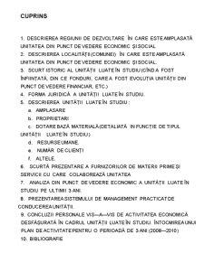 Management - Motelul National - Pagina 1