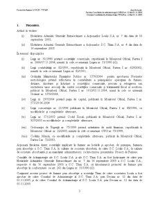 Proiect de Fuziune prin Absorbtie a Societatilor SC Loulis SA si SC Titan SA - Pagina 3