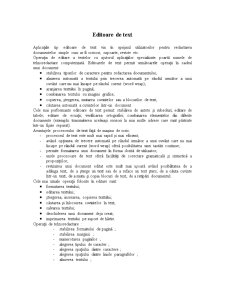 Editoare de Text - Pagina 1