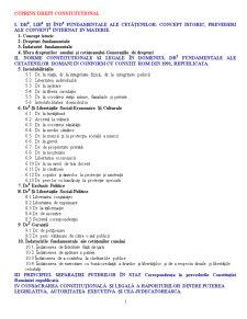 Drept Constitutional - Pagina 1