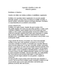 Aspectele Stiintifice si Etice ale Sfaturilor Genetice - Pagina 1