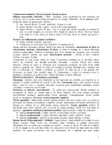Comunicarea Mediatica. Teorii si Metode. Functii si Efecte - Pagina 1