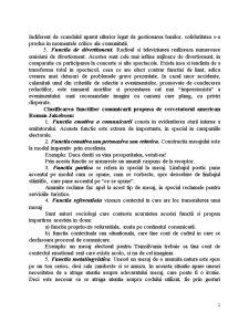 Functiile Comunicarii Mediatice - Pagina 2