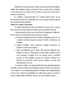 Psihoterapii Cognitive - Tehnici de Consiliere Behavioriste - Pagina 4