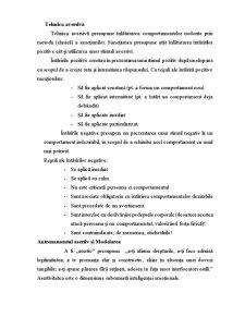 Psihoterapii Cognitive - Tehnici de Consiliere Behavioriste - Pagina 5