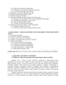 Sisteme Informatice pentru Asistarea Deciziei - Pagina 3