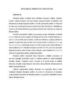 Izvoarele Dreptului Financiar - Pagina 2