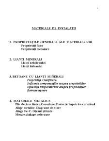 Caiet Materiale de Constructii - Pagina 1