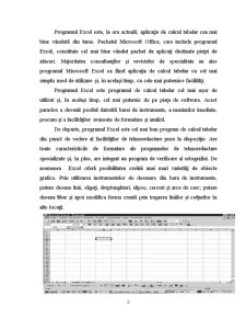 Excel - Reprezentari Grafice - Pagina 2