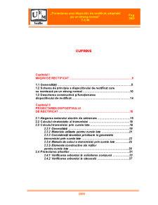 Proiectarea unui Dispozitiv de Rectificat, Adaptabil pe un Strung Normal - Pagina 3