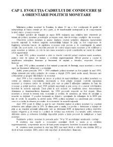 Politica Monetara in Cazul Romaniei - Moneda si Credit - Pagina 4