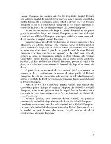 Dreptul Constitutional al Uniunii Europene - Pagina 2