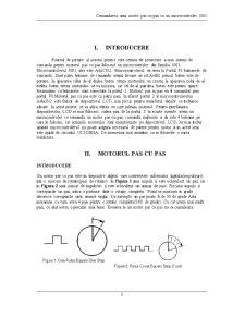 Comandarea unui Motor Pas cu Pas cu un Microcontroler 8051 - Pagina 3