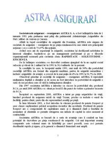 Proiect de Practica la SC Astra SA - Pagina 2