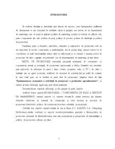 Fundamentarea Economică a Activității de Promovare a Produselor Agroalimentare - Pagina 3