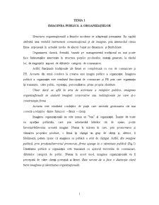 Imaginea Publică a Organizațiilor - Pagina 1