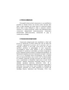 Tipuri de Comunicare - Pagina 1