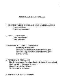 Materiale de Instalații - Pagina 1