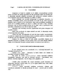 Carnea de Bovine - Pagina 1