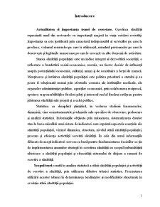 Statistica Ocrotirii Sanatatii, Analiza Situatiei in Republica Moldova - Pagina 3